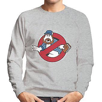 Supernatural Ghostbusters Mix Men's Sweatshirt