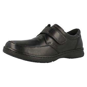Mens Hush Puppies Wide Fitting Leather Formal Shoes Numeral