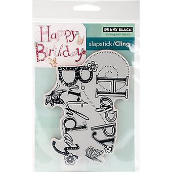 Penny Black Cling Stamps 3.6