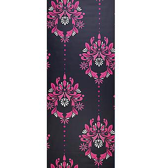 Dulux Grey & Pink Wallpaper Roll - Flat Patterned Feature Design - 30-738