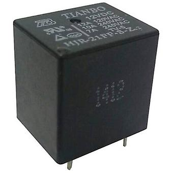 PCB relays 12 Vdc 15 A 1 change-over Tianbo Electronics