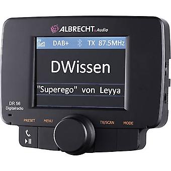 DAB+ receiver Albrecht DR-56 Handsfree , Suction cup