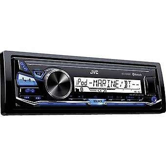 Car stereo JVC KD-X33MBTE Splashproof, Steering wheel RC button connector, Blu