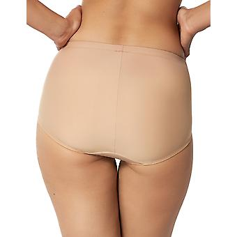 Sans Complexe 629797 Women's Essential Nude Solid Colour Knickers Panty Brief