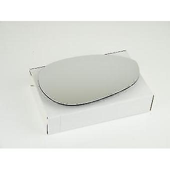 Right Mirror Glass (heated) & Holder for Fiat 500 C 2009-2017