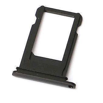 iPhone 7 / 7 Plus Simkaart Houder  / Sim card tray - Jet Black