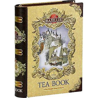 Basilur Tea Tea Book Volume Ii Gold Loose Tea In Metal Tin Caddy 100G