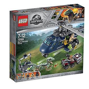 Lego 75928 Jurassic World Blue'S helikopter uitoefening Building Set