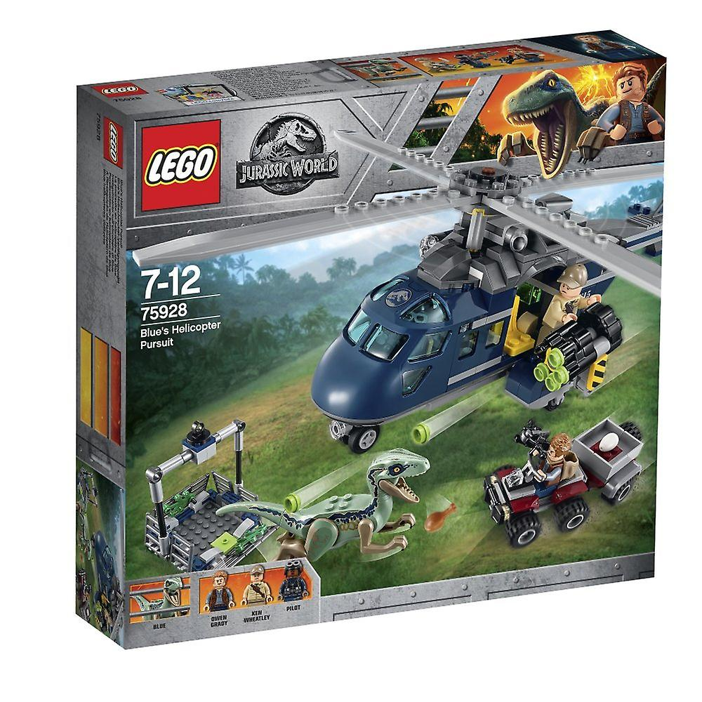 Lego 75928 Jurassic World bleu& 039;S Helicopter Pursuit Building Set