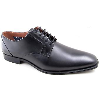 Mens Leather Smart Lace Up Dress Wedding Office Derby Formal Shoes
