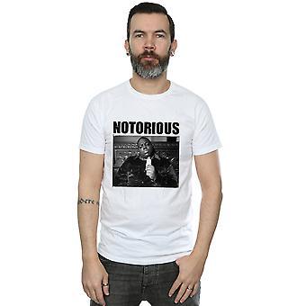 Nototrious BIG Men's Black and White Photo T-Shirt