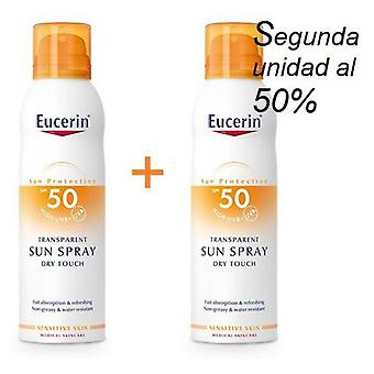Eucerin Sun Spray Transparent Dry Touch Sensitive Protect SPF 50