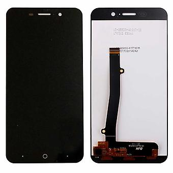 Display full LCD unit touch spare parts for ZTE blade A602 repair black new