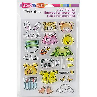 Stampendous Perfectly Clear Stamps -Spring Short Stack