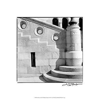 Het platform Detail ik Budapest Poster Print by Laura Denardo (13 x 19)
