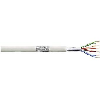 LogiLink CPV0017 Network cable CAT 5e SF/UTP 4 x 2 x 0.13 mm² Grey 100 m