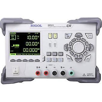 Rigol DP811 Bench PSU (adjustable voltage) 0 - 40 Vdc 0 - 10 A 200 W No. of outputs 1 x