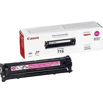 Toner cartridge Original Canon 716 M Magenta Page yield 1500 pages