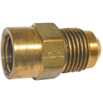 Big A Service Line 3-14664 Brass Flare Female Connector 3/8