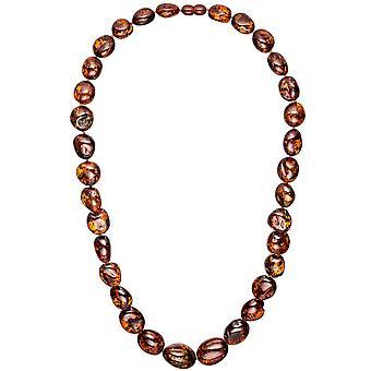 Янтарное ожерелье цепи 60 см ожерелье курс янтарные колье янтаря ожерелье