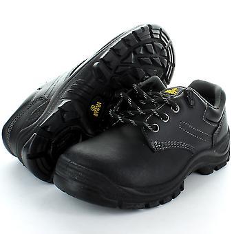 Amblers in acciaio FS87 scarpa nero 3 occhiello sicurezza Toe Cap