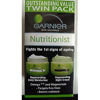 Nutrizionista Garnier rigenerante idratante quotidiano & notte crema Twin Pack