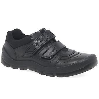 Startrite Rhino Warrior Boys Riptape School Shoes