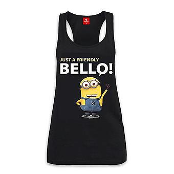 Despicable Me Loose Tank-Shirt Just a Friendly BELLO