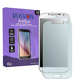 Samsung Galaxy S4 Screen Protector - Mikvon AntiSun (Retail Package with accessories)