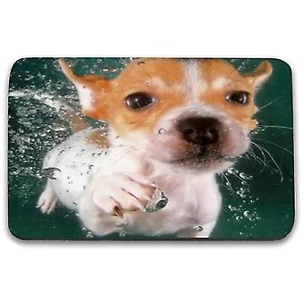 i-Tronixs - Underwater Dog Printed Design Non-Slip Rectangular Mouse Mat for Office / Home / Gaming - 8