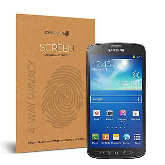 Celicious Privacy Plus 4-Way Anti-Spy Filter Screen Protector Film Compatible with Samsung Galaxy S4 Active