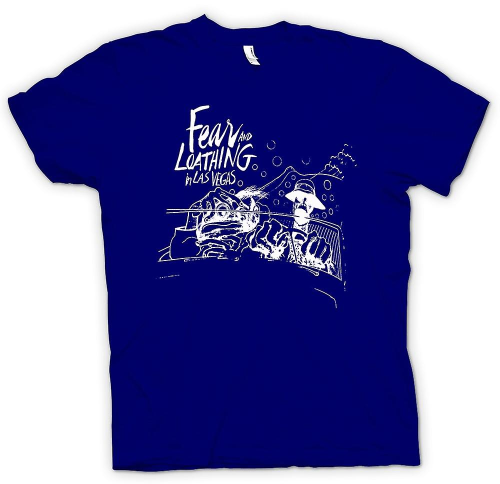 Mens T-shirt - Fear And Loathing - Cartoon - lustig