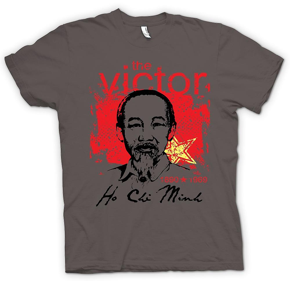 Womens T-shirt - Ho Chi Minh The Victor - Vietnam - Communism