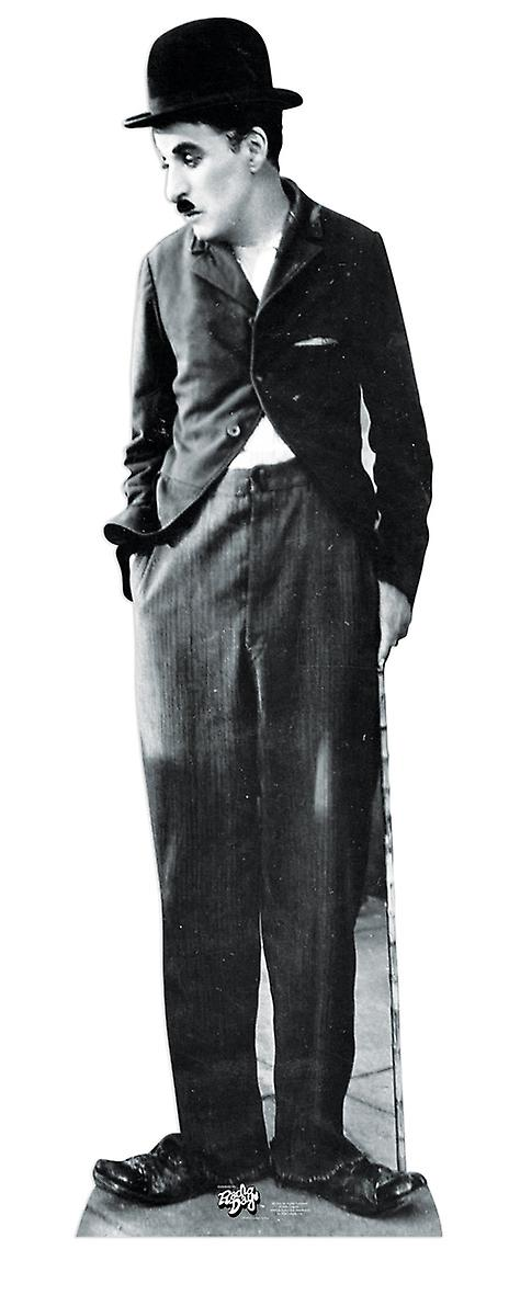 Charlie Chaplin Lifesize Kartong cutout / Standee
