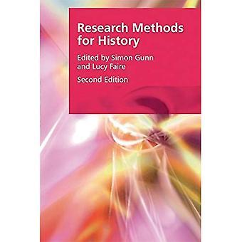 Forskningsmetoder for historie