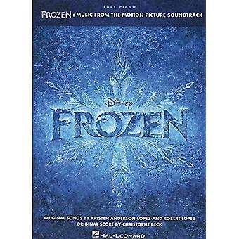 Frozen Music from the Motion Picture Soundtrack Easy Piano Songbook Bk