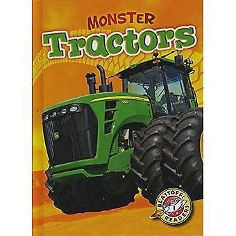 Monster Tractors (Blastoff! Readers: Monster Machines)