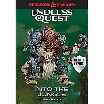 Dungeons & Dragons: Para a selva: um busca interminável livro (busca interminável)