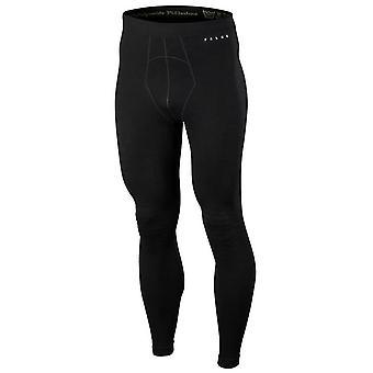 Falke wol Tech lange panty - zwart