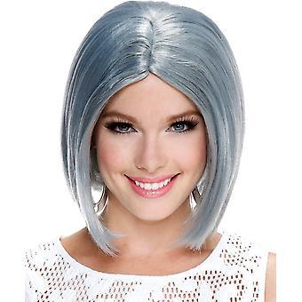 Midi Bob Grey Wig