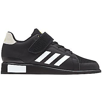adidas Power Perfect III Mens Adult Weightlifting Powerlifting Shoe Black/White