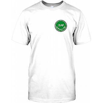 ISAF - militære Logo - krigen i Afghanistan - bryst Logo børn T Shirt
