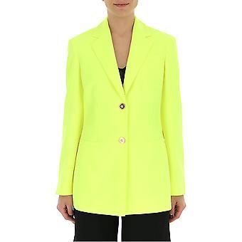 Versace Yellow Polyester Blazer