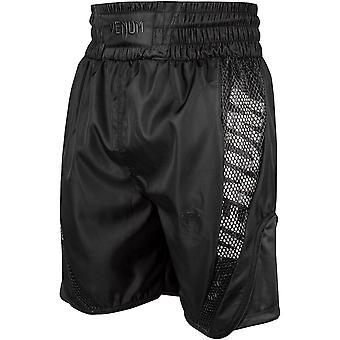 Elite van Venum Boxing Shorts - zwart/zwart