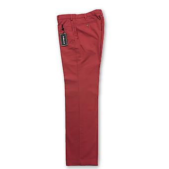Ralph Lauren light red brushed cotton trousers