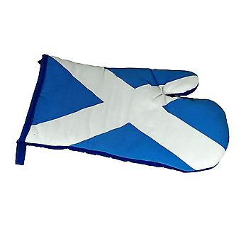 Union Jack use guante del horno de la Cruz de San Andrés de la bandera de Escocia