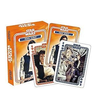 Star Wars Han Solo baraja de 52 cartas (nm)
