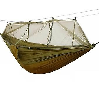 Hammock with mosquito net-green