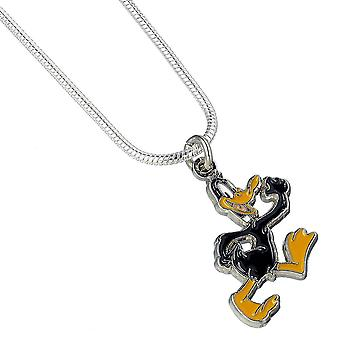 Looney Tunes verzilverd Daffy Duck ketting