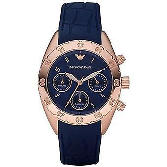 Emporio Armani Ar5939 orologio da donna con quadrante cronografo sportivo blu